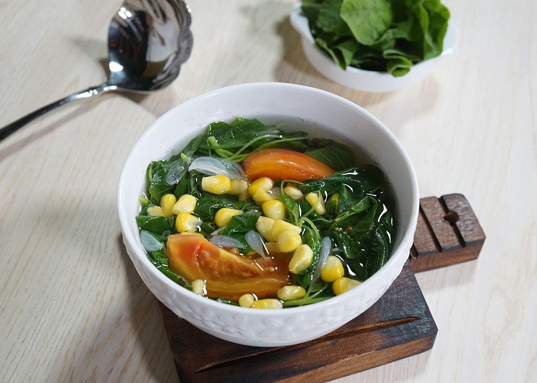 Tips Masak Sayur Bening Bayam Untuk Dua Kali Makan